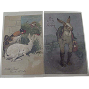 Pair of Postcards for Easter