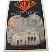 Roxy Theatre Review 1929