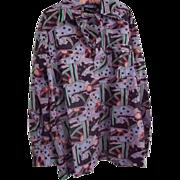 Psychedelic Men's Shirt
