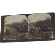 World War One Stereoviews of Soldiers, WWI