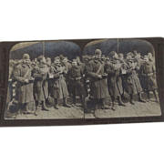 World War One Stereoviews of Soldiers