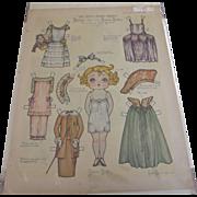 Paper Doll Betty Bobbs