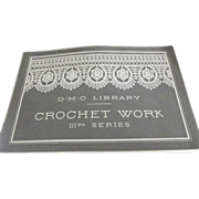 D.M.C Library Crochet Work