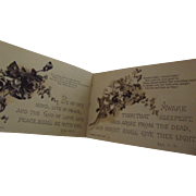 Victorian Miniature Religious Book