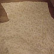 SALE Pretty Vintage Crocheted Spread