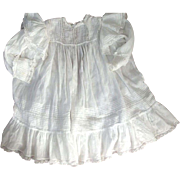 SOLD Victorian Baby Dress Elaborate Lace