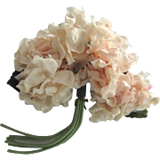 Pink Flower Corsage Pin