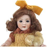 Large All Bisque German  Doll