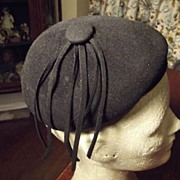 SALE Cute Little Black Hat
