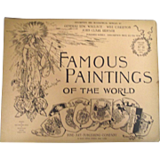 Victorian Publication Famous Paintings Of The World