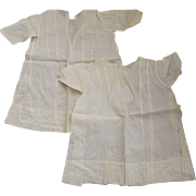 SOLD White Baby Dresses To Repurpose