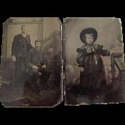 Pair of Tintypes