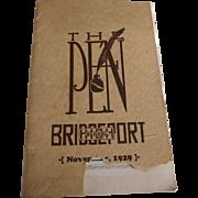 The Pen Bridgeport High School 1929