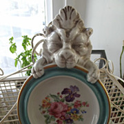 SALE Firenze Italy Plaque/Dish With Lion