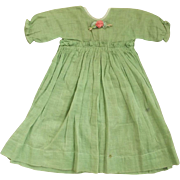 Early Green Doll Dress