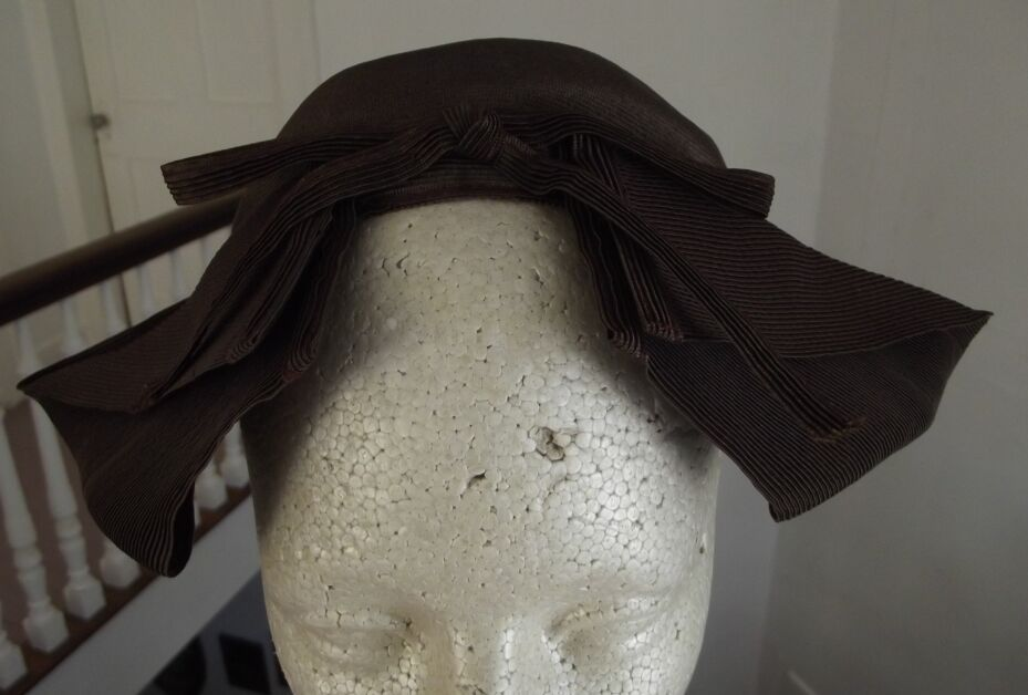 Brown Twill Hat