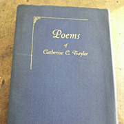 Poems of Catherine C. Taylor
