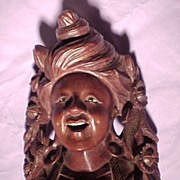 SALE Old Wood Carving