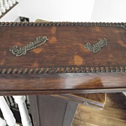 Oak Cigar/Cigarette Box