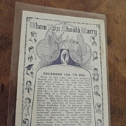 Art Deco Era Post Card