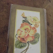 Victorian Floral Post Card