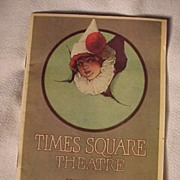 SALE Art Deco Times Square Theatre Program