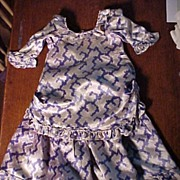 SALE Lovely Old Silk Fashion Outfit For Large Doll
