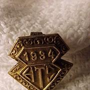 Tiny High School Pin
