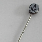 Early  Masonic  Stick Pin