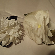 White Flower Corsages