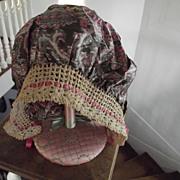 Art Deco Silk Sleep Cap