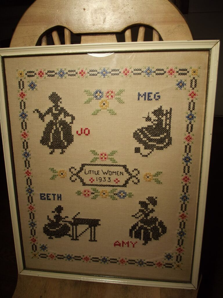 Little Women Cross Stitch
