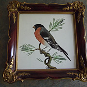 SALE Rosenthal Picture of A Robin