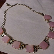 Pretty Pink Vintage Necklace