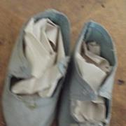 Blue Cloth  Doll Shoes