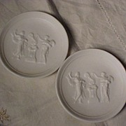 Two Parian Plaques