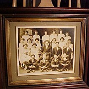 SALE Wonderful Old Frame with Class Photograph