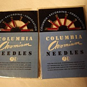 Two Packages of Columbia Chromium Needles
