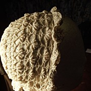 Silk Crochet Doll or Baby Cap