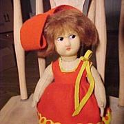 SALE Cute Little Lenci Type Doll