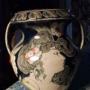 Art Nouveau Royal Bonn Vase