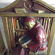 Friar Bookends
