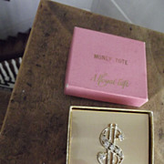 "Vintage ""Money Tote"" Original Box"