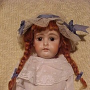 SOLD Cabinet Size Closed Mouth  Pouty Kestner