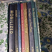 Lots of War Books By Stout