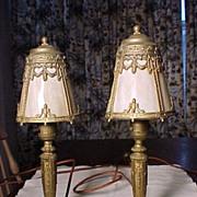 SALE PENDING Pair of Vintage Lights