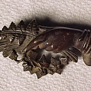SALE PENDING Victorian Mourning Pin