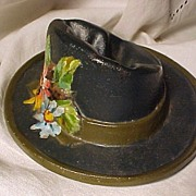 French A. Roux Cast Iron Hat