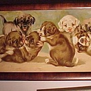 Victorian Puppy Picture