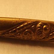 Old Brass Bar Pin
